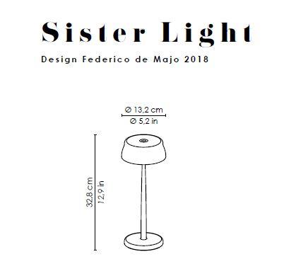 Bežična LED lampa Sister light