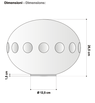 Stolna lampa Egoluce Llum 2108