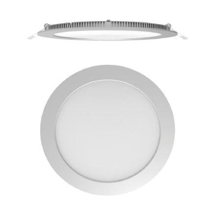 Stropna ugradbena lampa Secom Aero LED Circular 15W 3000K 4220 01 83