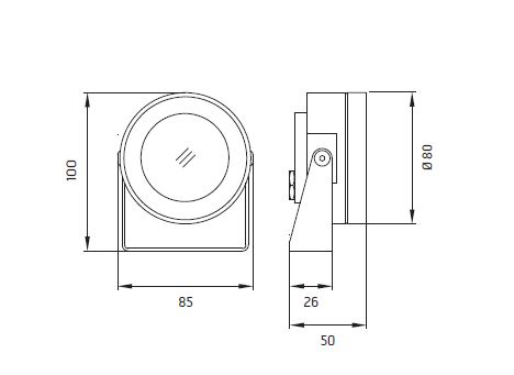 Podvodna LED lampa Ares Martina Aqua IP 68 105172144