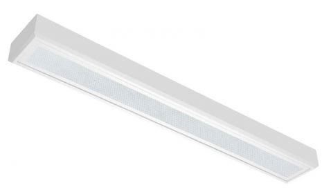 Fluo stropna lampa OMS CLASSIC ASN  PRISMA FDH G5 1x49W, ECG, RAL 9003