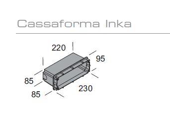 Pribor za zidnu ugradnju Kreadesign Inka 93987