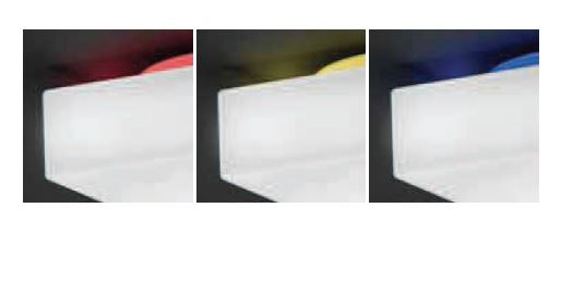 Vanjska stropna ili zidna lampa Kreadesign Quadro 250 IP65  233