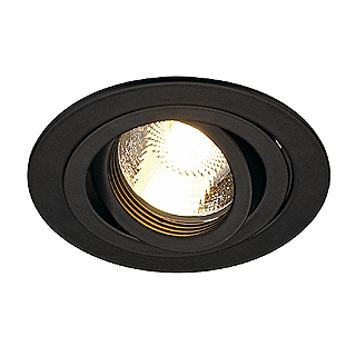Ugradbena stropna lampa SLV Big White NEW TRIA GU10 max. 50W okrugla