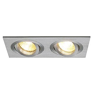 Ugradbena stropna lampa SLV Big White NEW TRIA 2 GU10 max. 2x50W četvrtasta