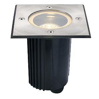 Ugradbena podna lampa SLV DASAR 115 GU10 max. 35W IP67 229324