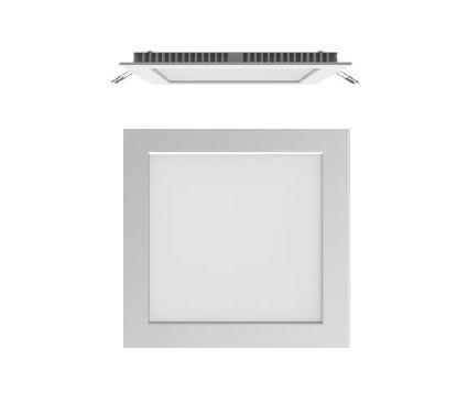 Stropna ugradbena lampa Secom Aero LED Cuadrado 13W 3000K 4250 01 83