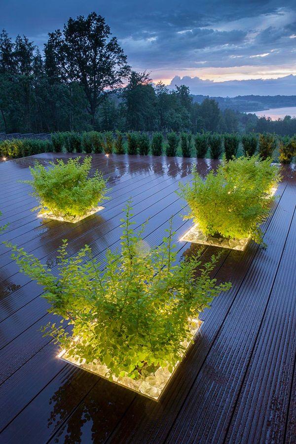 Fantastične ideje za rasvjetu dvorišta